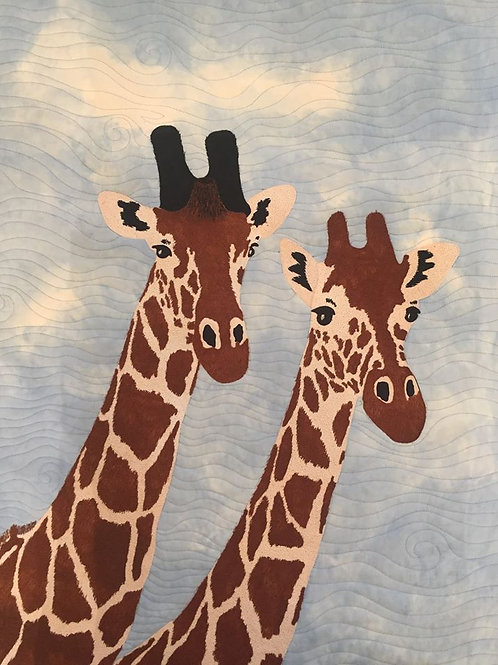 Giraffe Duo, Pattern, By Sue Sherman
