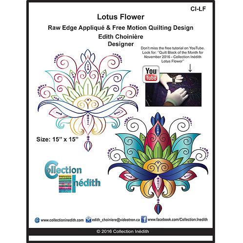 Lotus Flower 2.0, Pattern, By Edith Choiniere - Designer