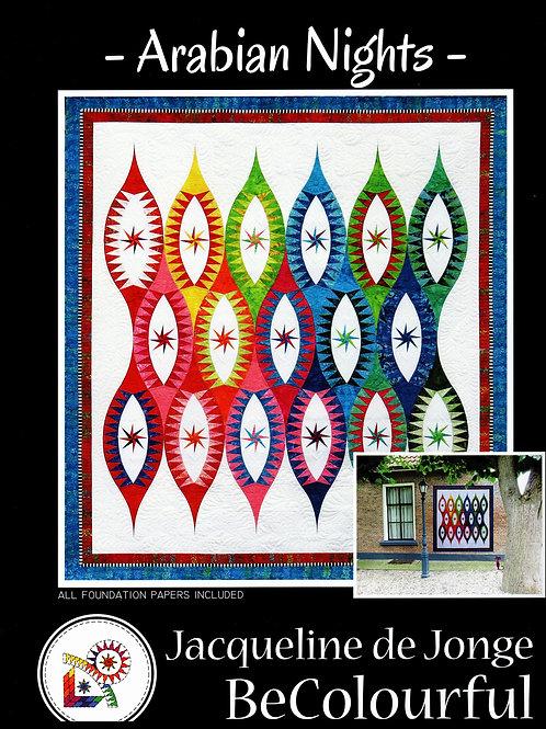 Arabian Nights Pattern By Jacqueline De Jonge