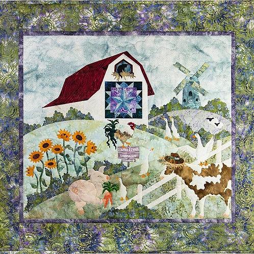 The Gentle Barn, Quilt Pattern, By McKenna Ryan