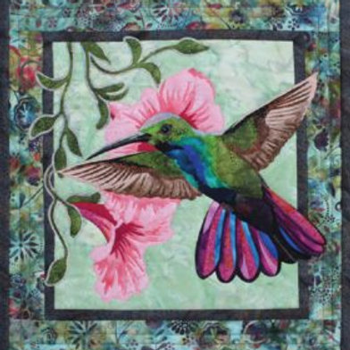 Hummingbird Fabric Quilt Kit by Toni Whitney