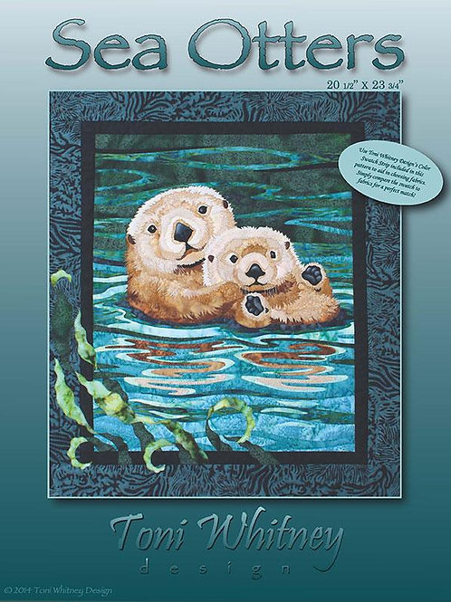 Sea Otter Quilt Pattern By Toni Whitney
