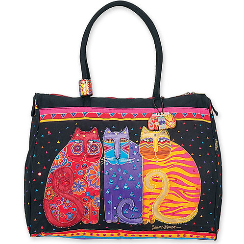 Feline Friends Travel Tote Bag