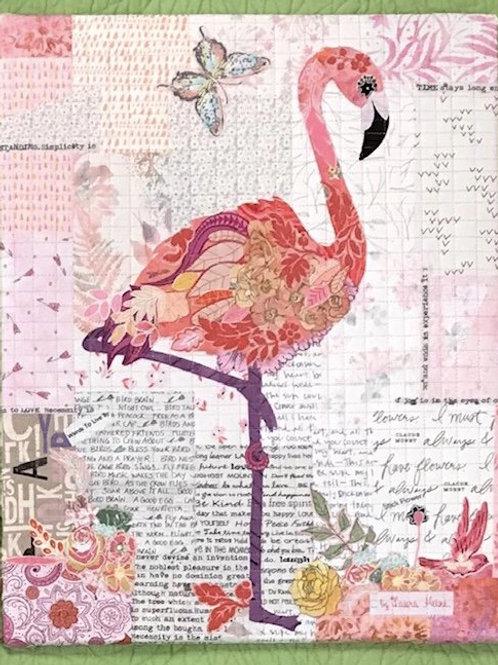 Pinkerton, Laura Heine Pattern, Flamingo