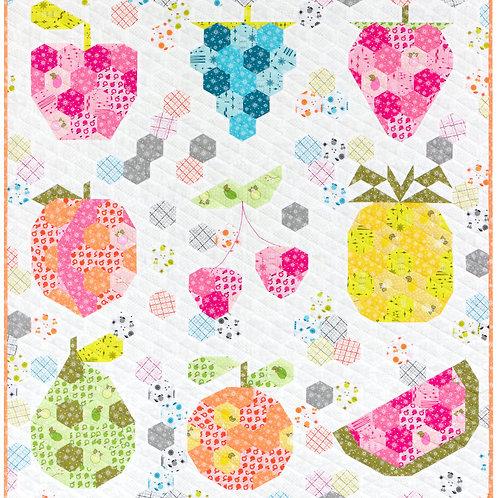 Fruit Basket QUilt Pattern By VIolet Craft