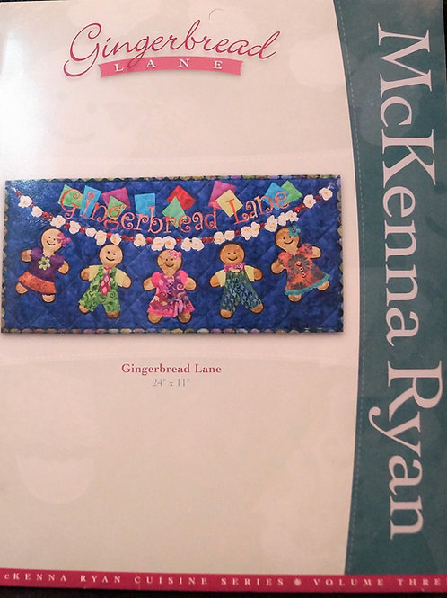 Gingerbread Lane, Gingerbread Lane, McKenna Ryan Patterns
