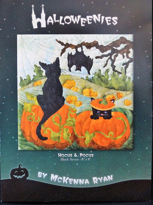Halloweenies, Hocus & Pocus , Block 7, McKenna Ryan Patterns