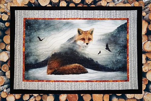 """Keppy"", Call of the Wild, Fabric Quilt Kit ."