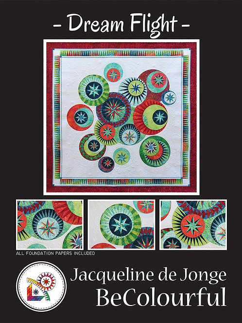 Dream Flight Pattern by Jacqueline De Jonge