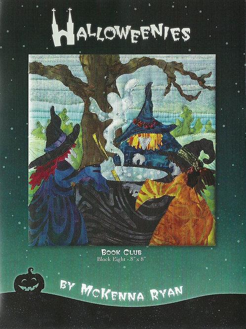 Halloweenies, Book Club, Block #8, McKenna Ryan Patterns