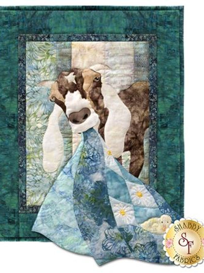 And A Moo Moo There,  And on the Farm, Quilt Pattern, By McKenna Ryan
