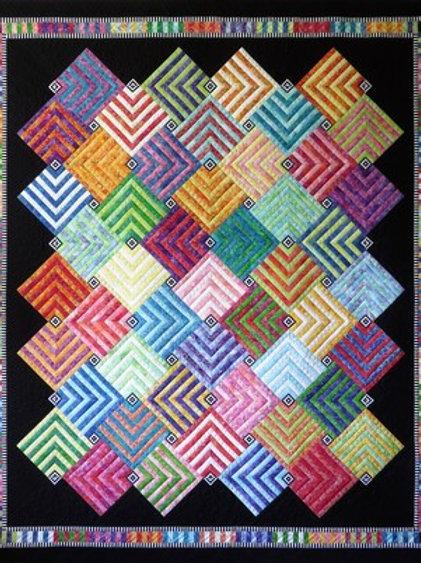Labyrinth Pattern By Jacqueline De Jonge