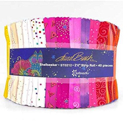 Laurel Burch Fabric Jelly Roll Seaside