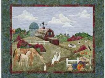 Back on the Farm, Autumn Stroll, Block #1, McKenna Ryan Pattern