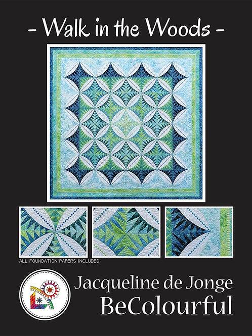 Walk in the Woods Pattern By Jacqueline De Jonge
