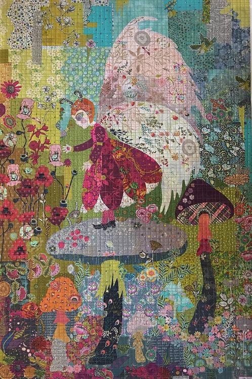 Medow Fairy Collage, Pattern by Laura Heine