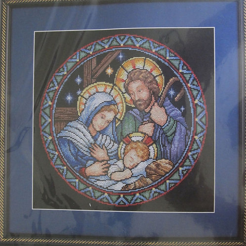 Holy Family Counted Cross Stitch kit
