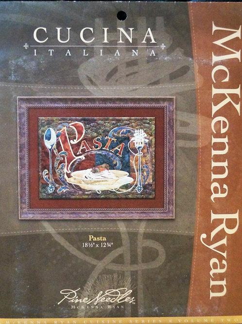 Cucina Italiana,Pasta, Block # 2, McKenna Ryan Pattern
