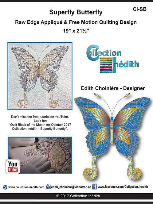 Superfly Butterfly, Pattern, By Edith Choiniere - Designer