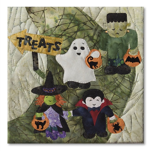 Halloweenies, Trick or Treat, Block #9, McKenna Ryan Patterns