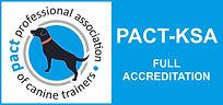 PACT Dog training logo