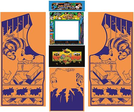 Zoo Keeper Side Art Arcade Cabinet