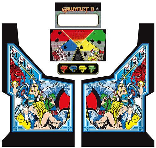 Gauntlet 2 Side Art Arcade Cabinet