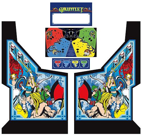 Gauntlet Side Art Arcade Cabinet