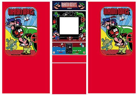 Mario Bros DK Cab Side Art Arcade Cabinet