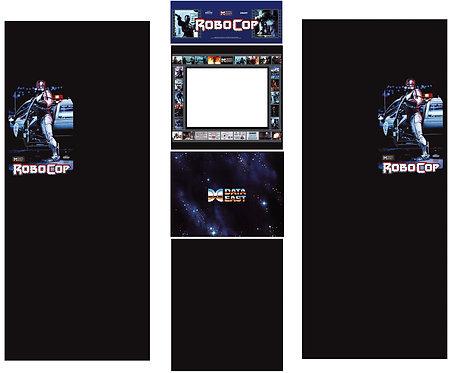 Robocop Side Art Arcade Cabinet