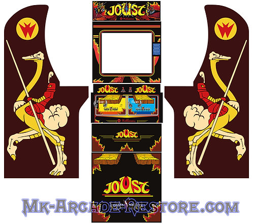 Joust Arcade1Up Side Art