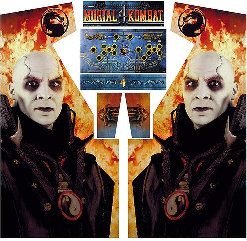 Mortal Kombat 4 MKIV Side Art Arcade Cabinet