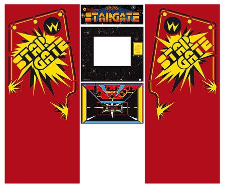 Stargate Side Art Arcade Cabinet