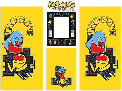 Pac-Man Side Art Arcade Cabinet