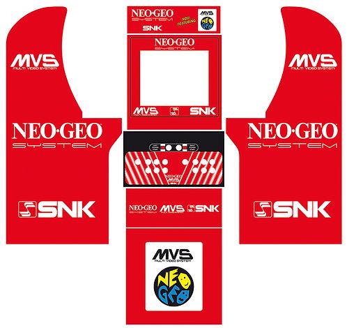 Neo-Geo Set Side Art Arcade1Up
