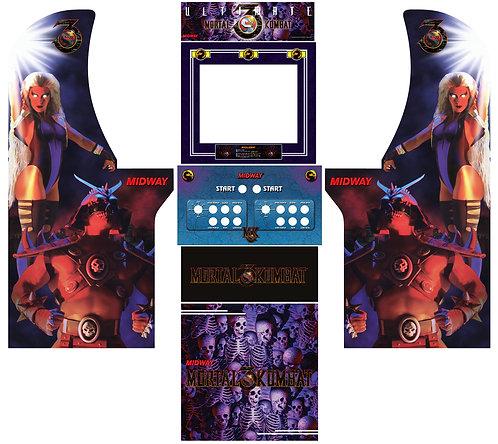 Ultimate UMK3 Side Art Arcade1Up Cabinet