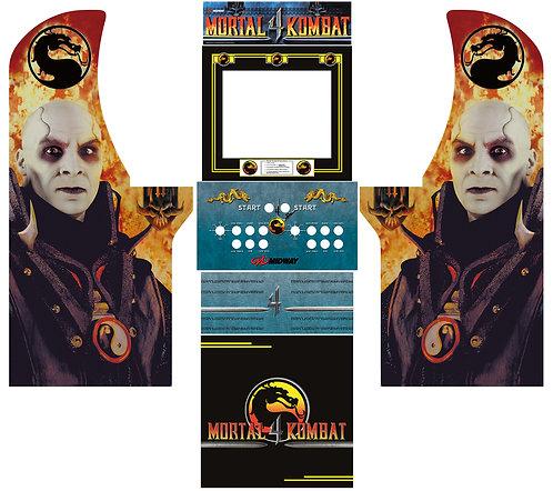 Mortal Kombat 4 MKIV Side Art Arcade1Up Cabinet