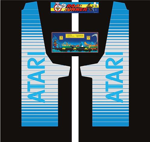 Atari Road Runner Side Art Arcade Cabinet