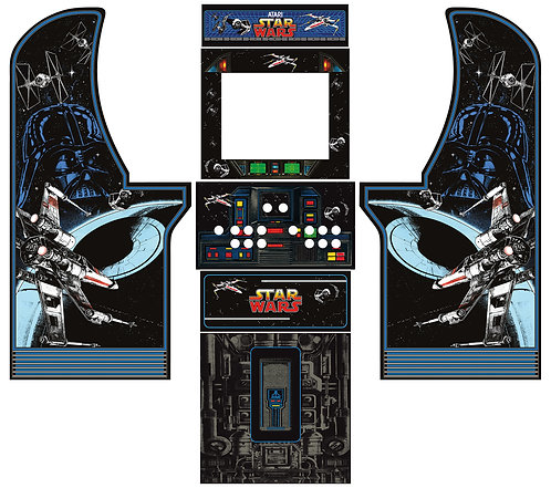 Star Wars Side Art Arcade1Up Cabinet