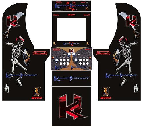 Killer Instinct Side Art Arcade1Up Cabinet