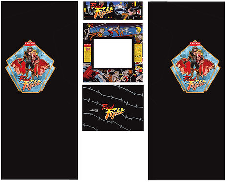 Final Fight Side Art Arcade Cabinet