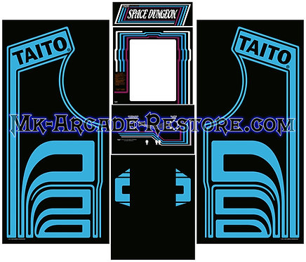 Space dungeon Side Art Arcade Cabinet