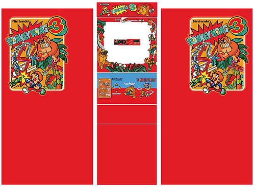 Donkey Kong 3 Side Art Arcade Cabinet DK3