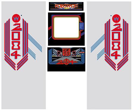 Robotron US Side Art Arcade Cabinet