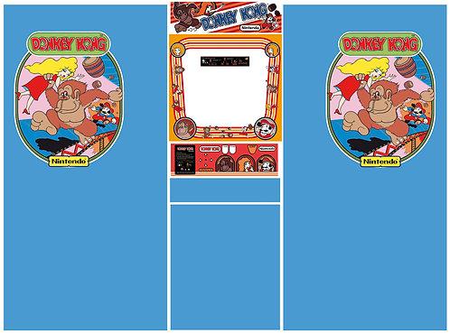 Donkey Kong Side Art Arcade Cabinet DK