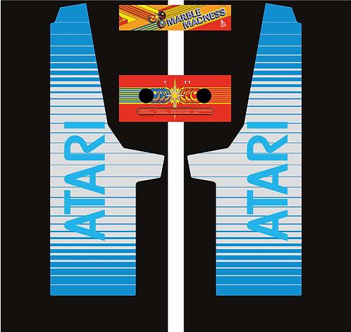 Atari Marble Madness Side Art Arcade Cabinet