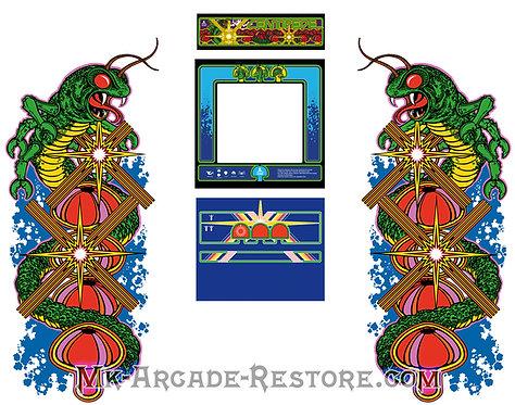 Centipede Side Art Arcade Cabinet