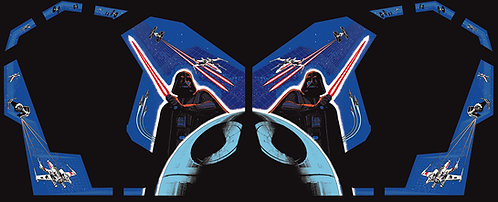 Star Wars Cockpit Side Art Arcade Cabinet