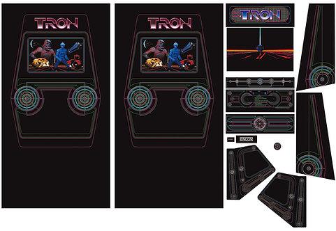 Tron Side Art Arcade Cabinet