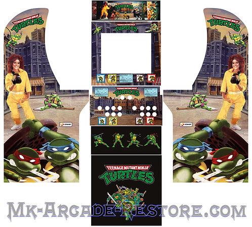 Teenage Mutant Ninja Turtles Side Art Arcade1Up